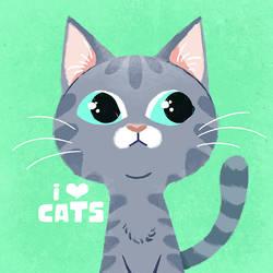 I love cats 2