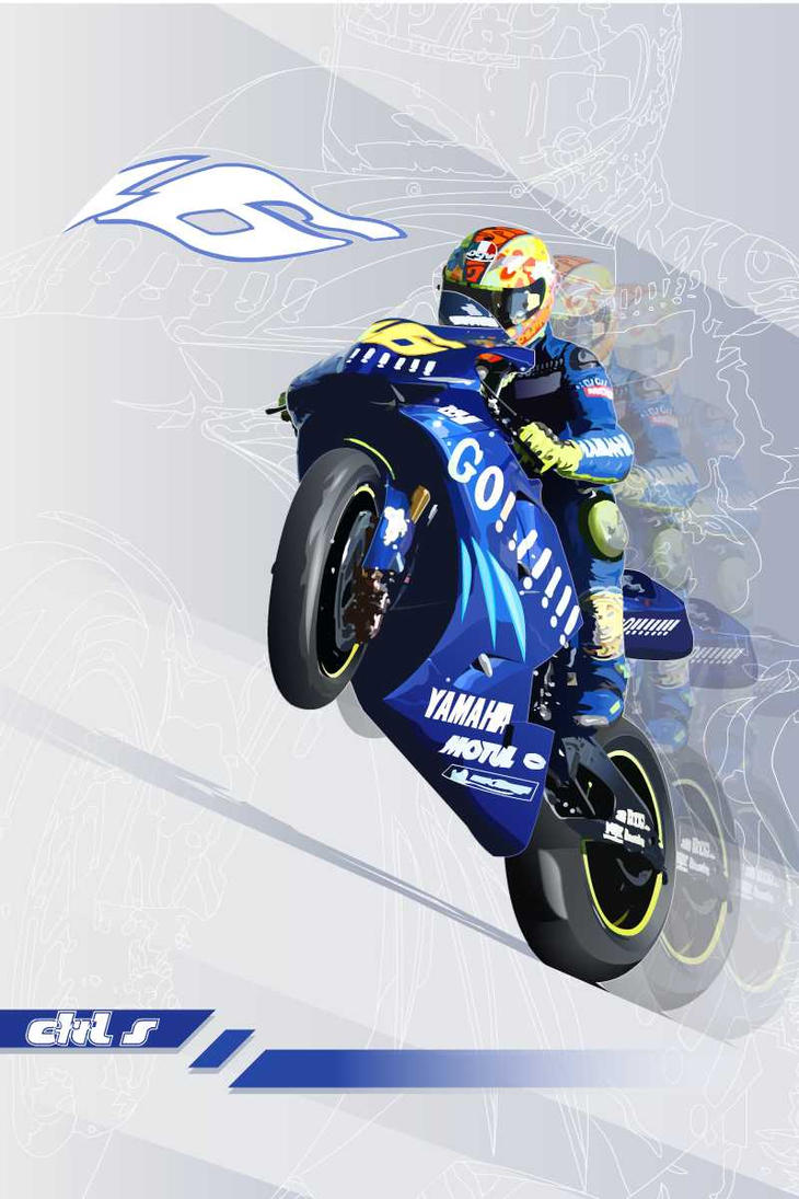 valentino rossi by salvo