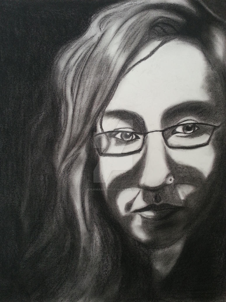 Self Portrait In Dramatic Lighting By Kiramarie131