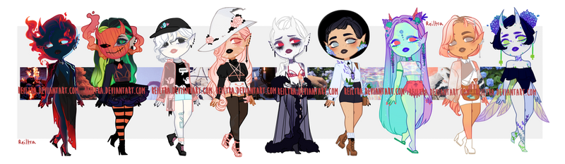 Cheeb batch 7- A little spoopy 1/9 OPEN