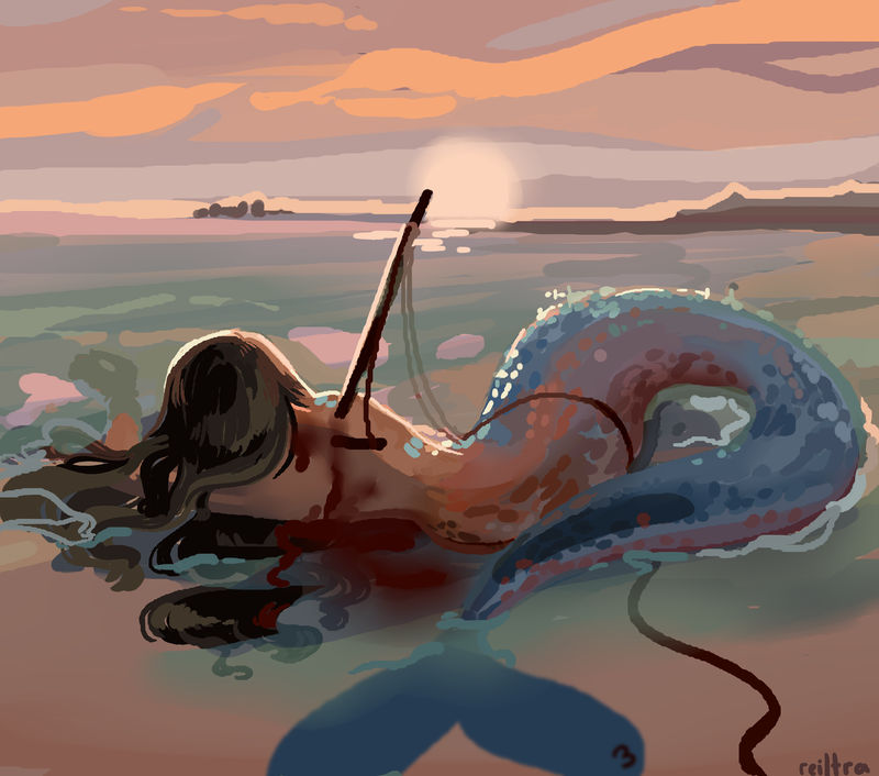 Mermay day 3 by Reiltra