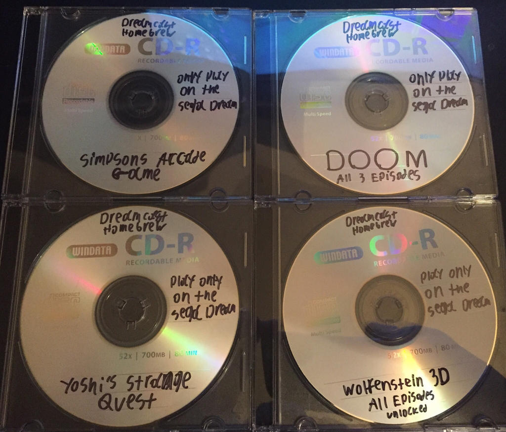 Dreamcast Homebrew Games by RetroRobby on DeviantArt