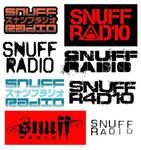 Snuff Radio logos