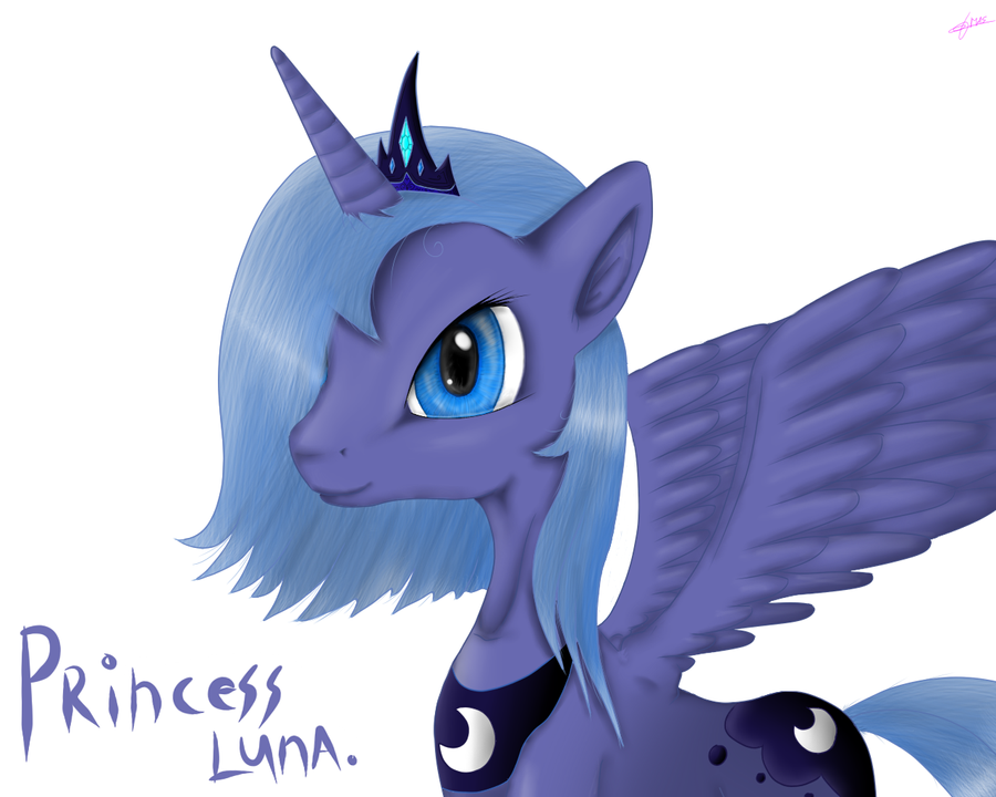 Luna practice by Masdragonflare