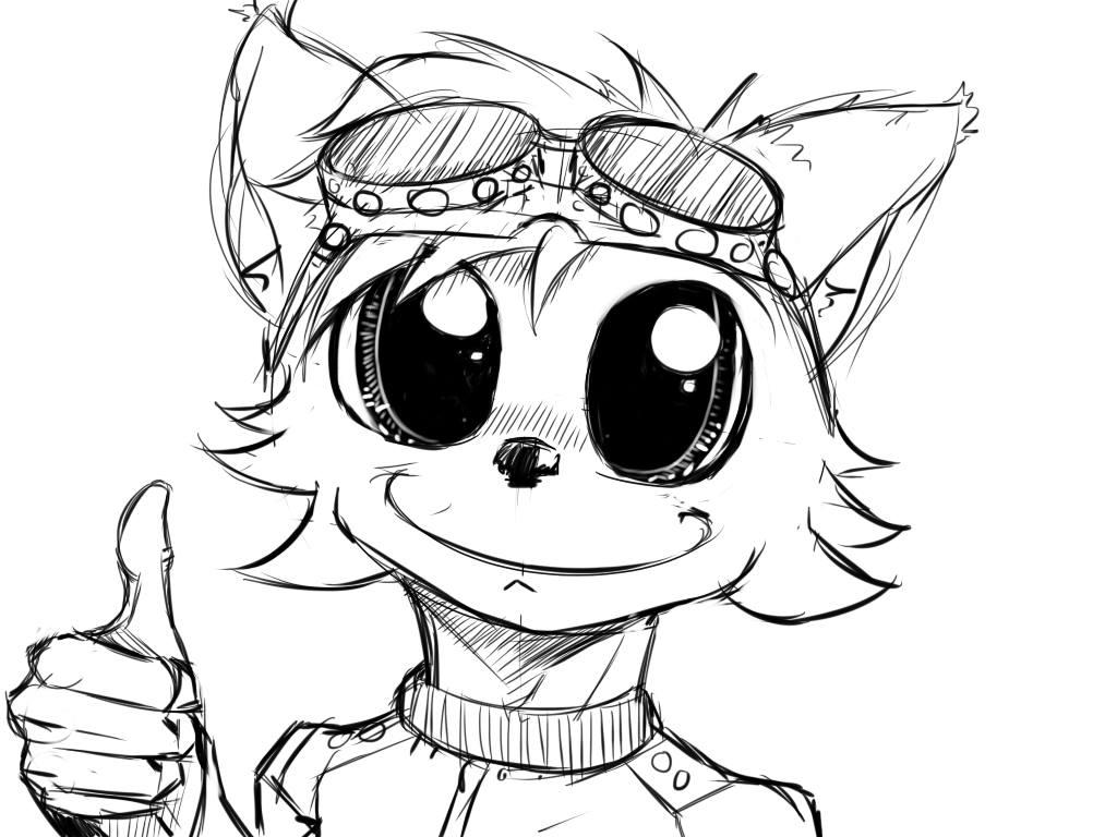 Flarret Doodle by Masdragonflare