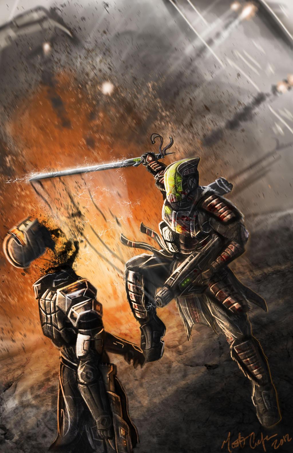 The Neo-Samurai by JoeCool42