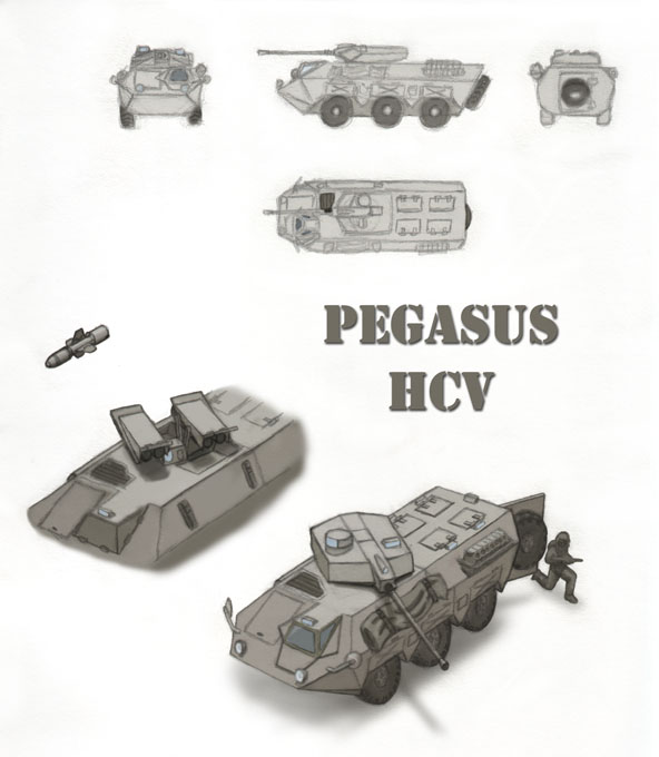 Pegasus HCV by cthelmax