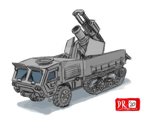 Half-Track Heavy Mortar Carrier