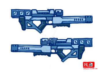 Laser Rifle concept