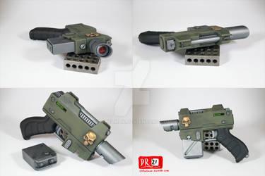 Warhammer 40k Laspistol prop