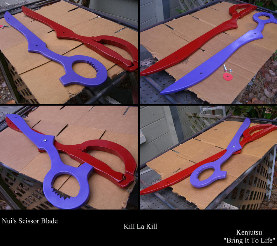 Scissor Blade Complete  Kill La Kill by Minatek616