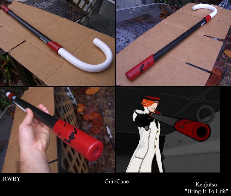 Gun Cane from RWBY by Minatek616