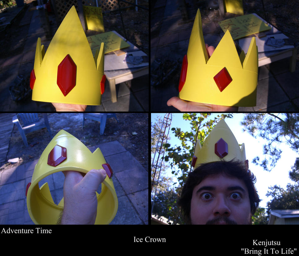 Ice King's Crown from Adventure Time! by Minatek616