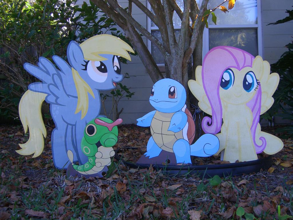 Pony Pokemon Trainers by Minatek616