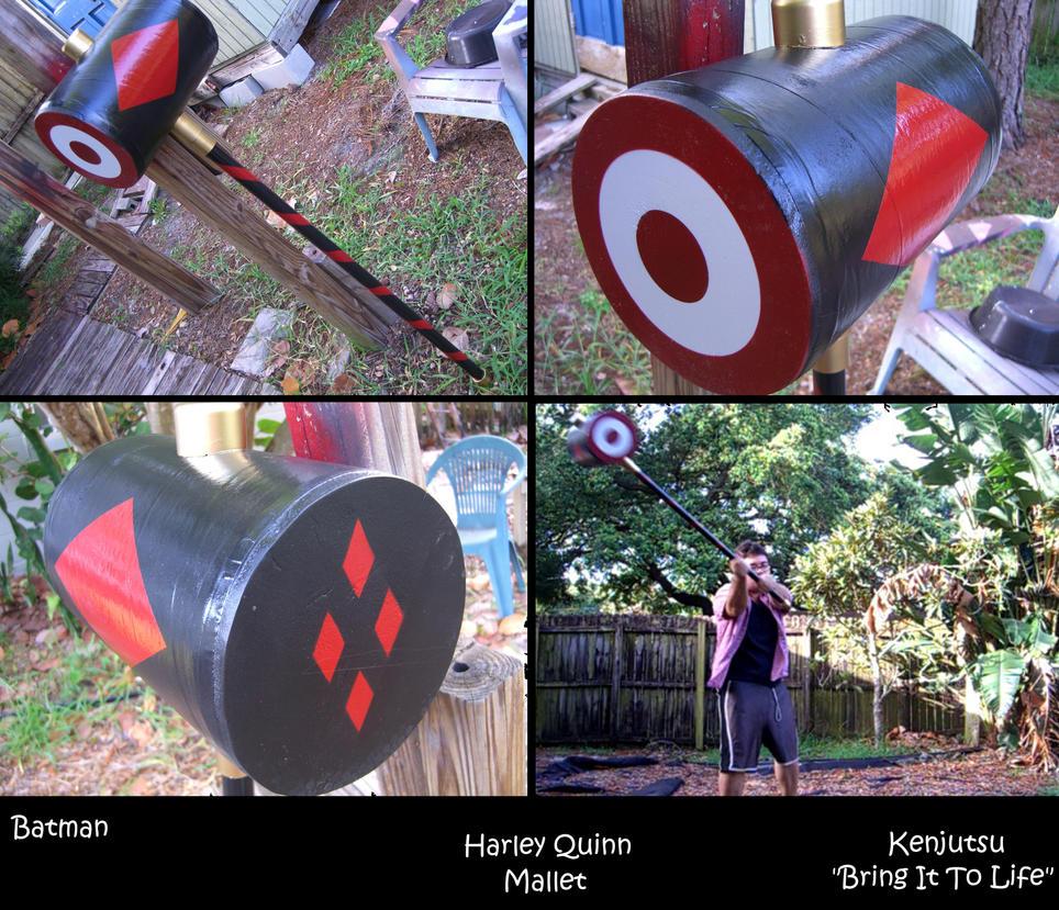 Harley Quinn Mallet by Minatek616