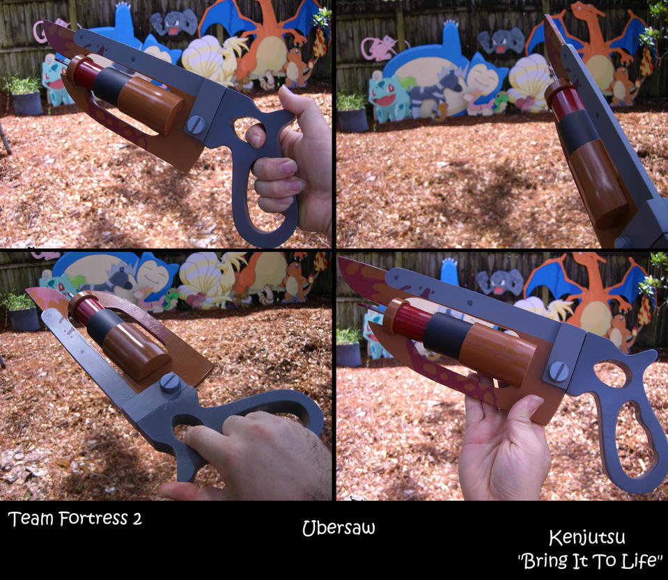 Ubersaw from TF2 cosplay prop by Minatek616
