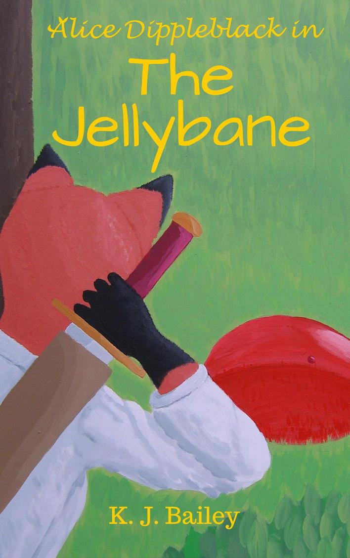 Alice Dippleblack in The Jellybane(survival novel) by Minatek616