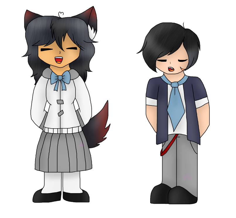 ask Aphmau and Aaron's children Amelia and Aiden by