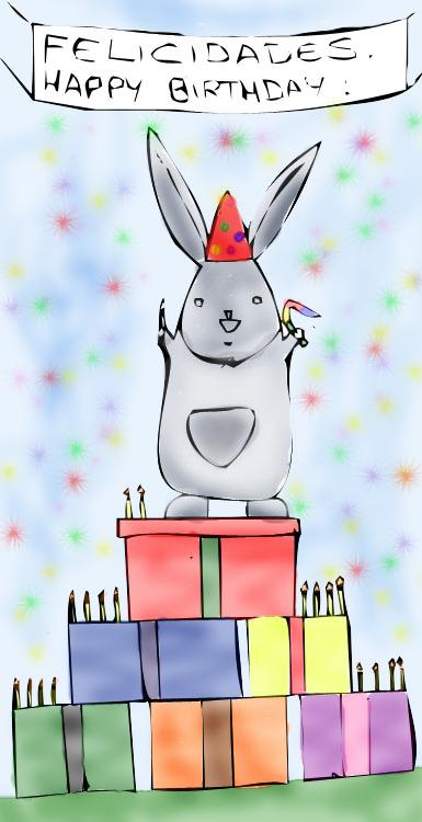 Happy bday Frealaf by andreuchi