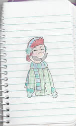Winter Luigi by Vendily