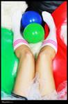 socks and balloons by kilzet