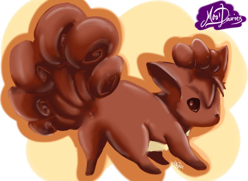 Chocolate Tails by 0okami-Rei