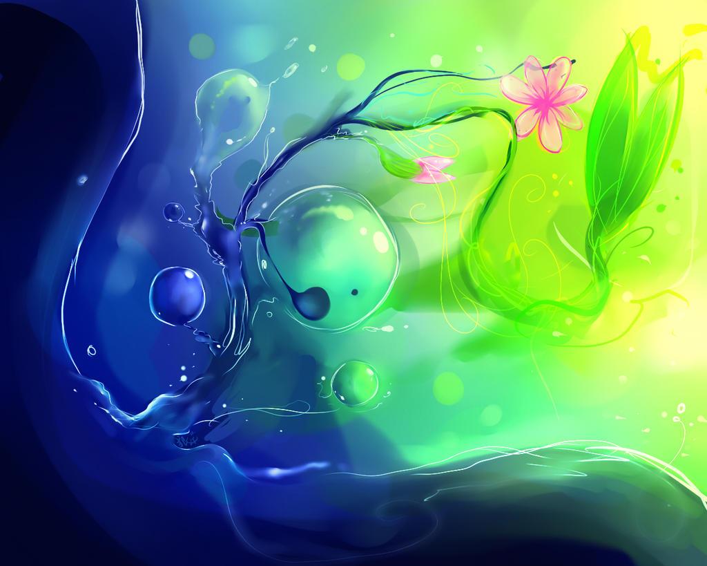 Water Springs Life by 0okami-Rei