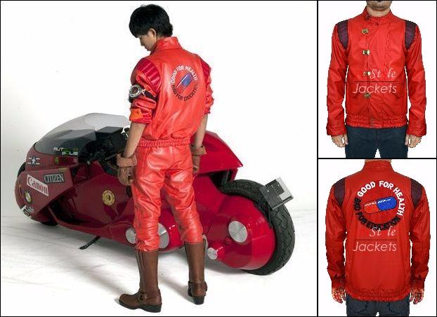 Akira Capsule Shotaro Kaneda Red Leather Jacket By Vainggooch On Deviantart