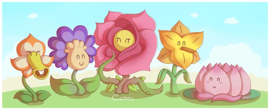Flower fields by louivi on deviantart flower fields by louivi mightylinksfo