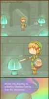 Skyward Sword: Party at Skyview Temple