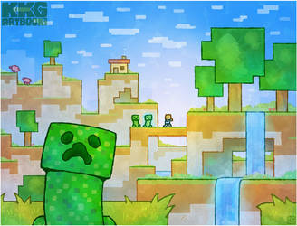 Minecraft by Louivi