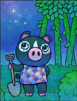 Animal Crossing: Agnes