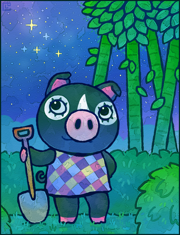 Animal Crossing: Agnes by Cavea