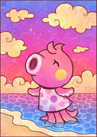 Animal Crossing: Marina by Louivi