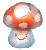 Bad mushroom by Louivi
