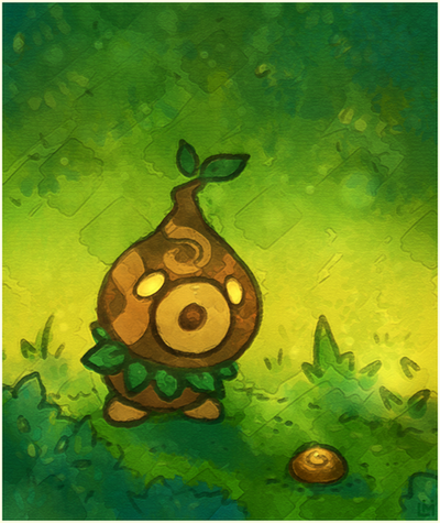 Zelda - Deku Scrub by Louivi