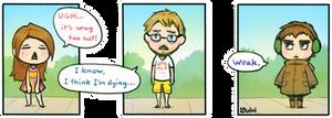 SWD comic - Too hot