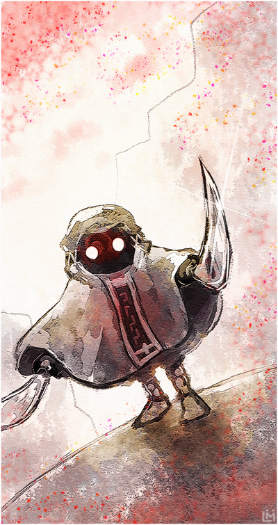 Zelda - Garo Robe by Louivi