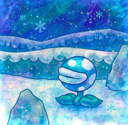 Paper Mario 64 - Frost Piranha
