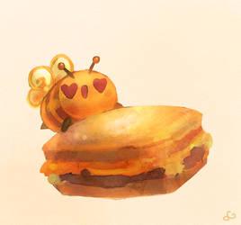 Bee's Breakfast Sandwich