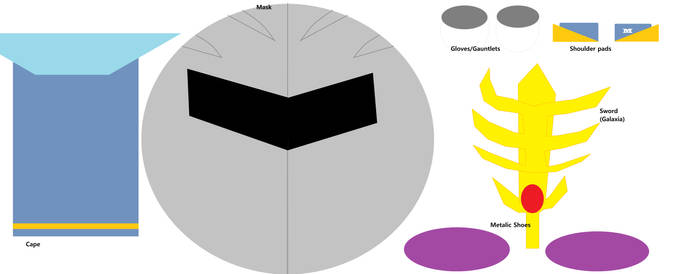 Meta Knight Gear by raymankirby69