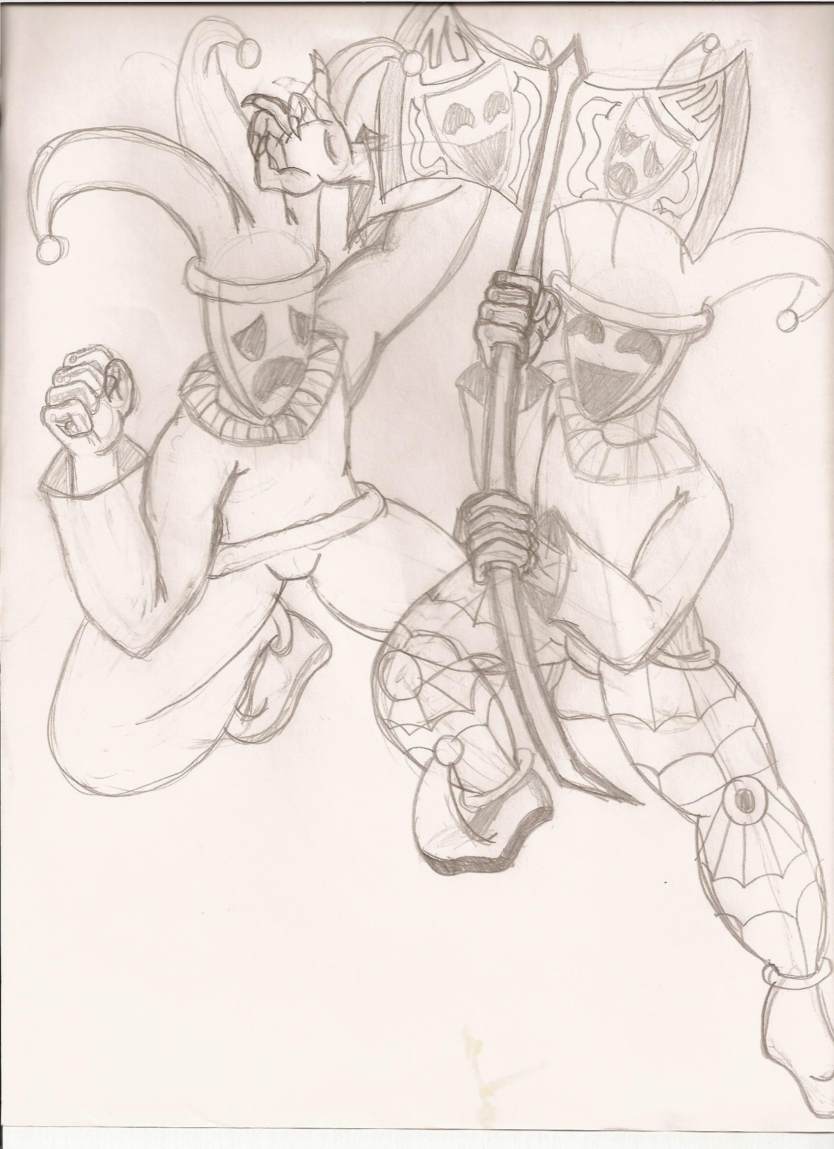 Evil demon clowns by DevilHunter-88 on DeviantArt