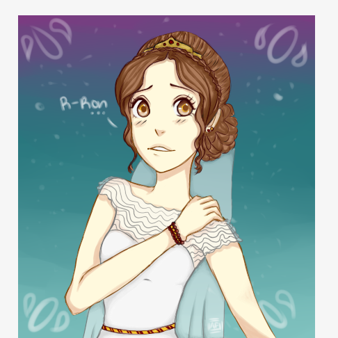 Ron's Bride (Hermoine Granger) by LilAusBooh