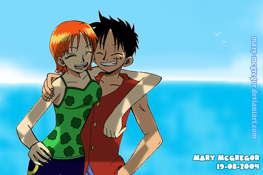 One Piece:Nami Luffy Forever By Mary-McGregor On DeviantArt