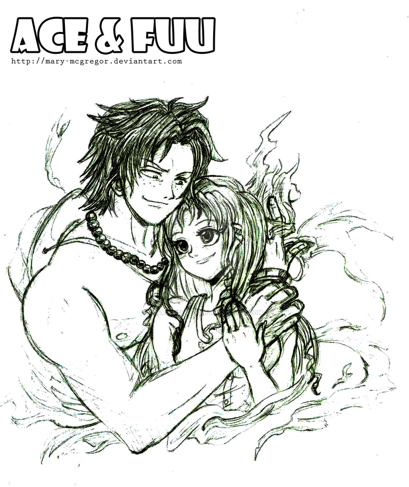 Comission: Ace n Fuu Pencil by Mary-McGregor