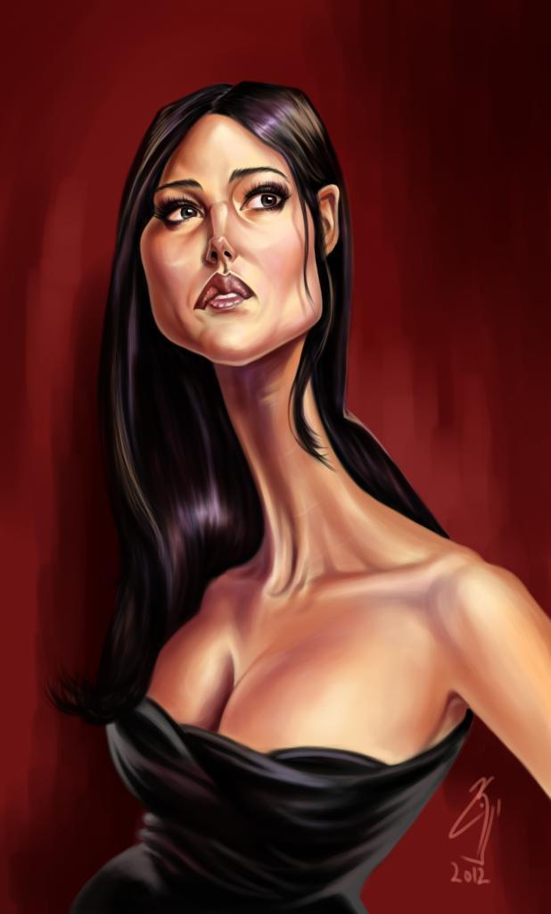 Monica Bellucci by bogdancovaciu