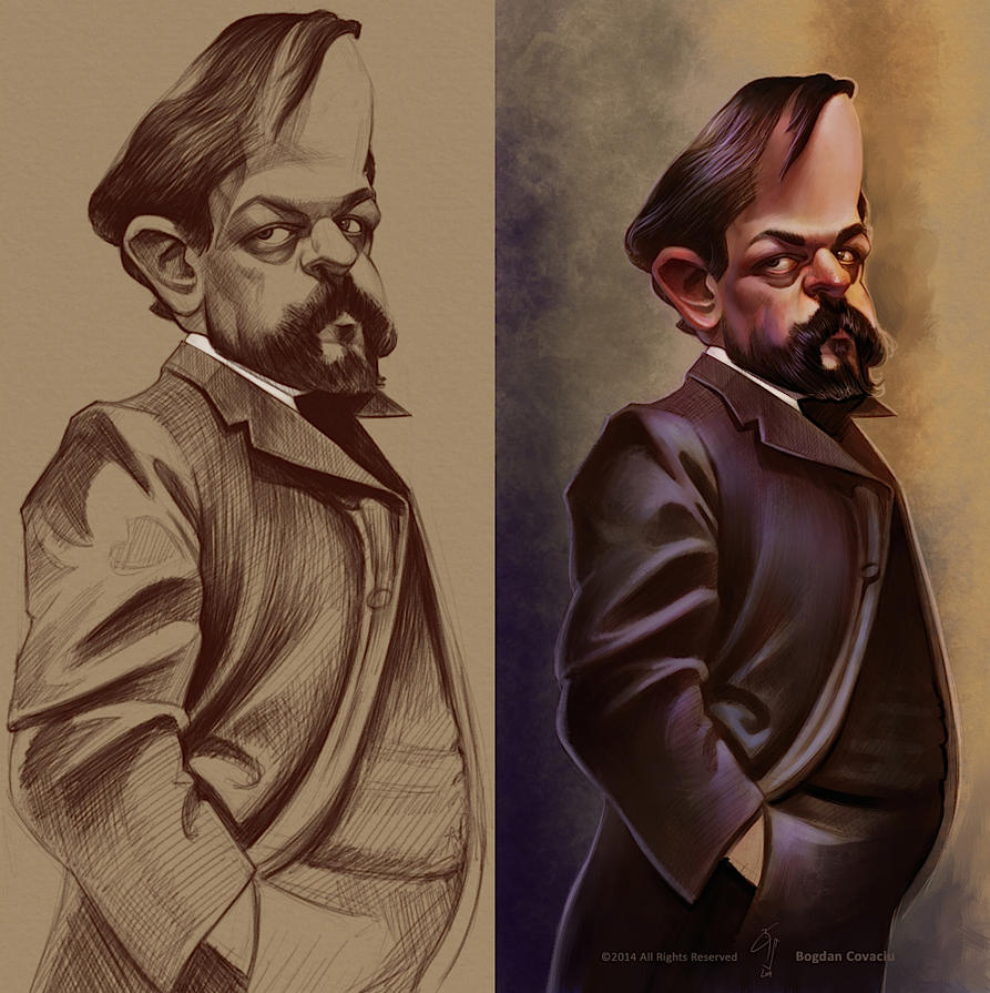 Debussy by bogdancovaciu