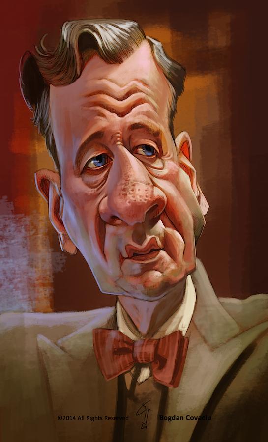 Geoffrey Rush by bogdancovaciu
