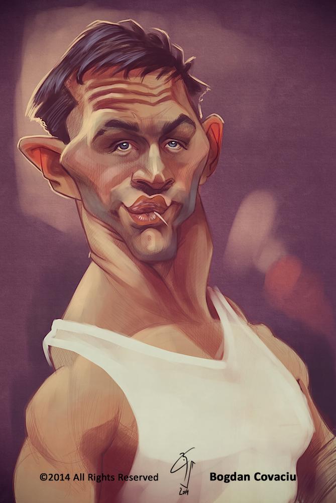 Tom Hardy by bogdancovaciu