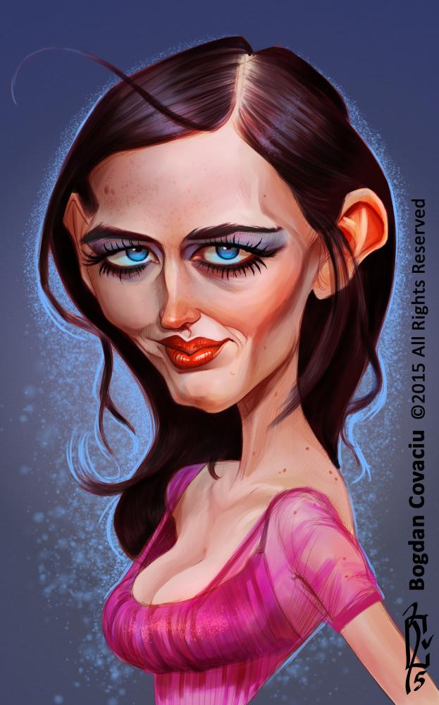 Eva Green by bogdancovaciu